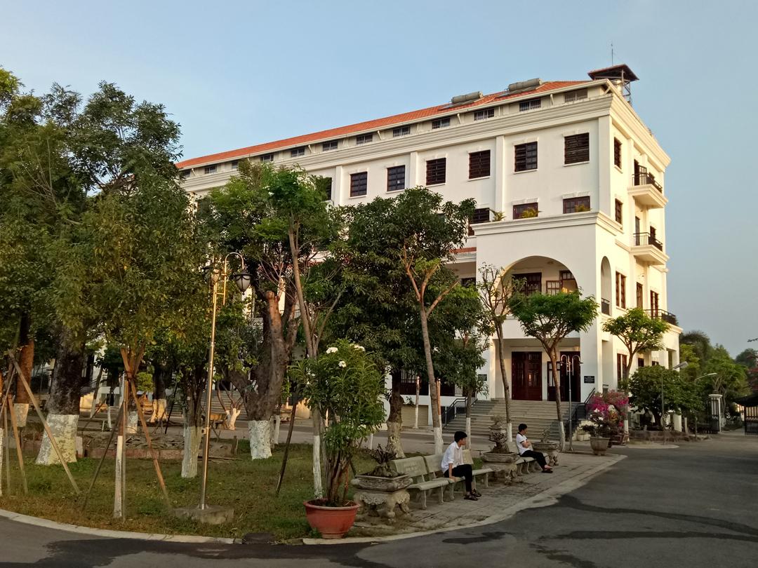 Cảnh nhà tỉnh tâm của Foyer de Charité de Cao-Thai.