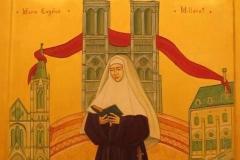 Icon Đông phương của Thánh nữ Marie Eugénie