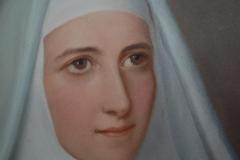 Hình thánh nữ Marie Eugénie khi còn trẻ